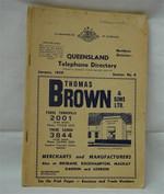 Queensland Telephone Directory 1959: Northern Districts (original)
