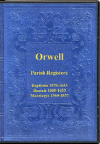 Cambridgeshire Parish Registers: Orwell 1560-1837