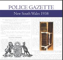 New South Wales Police Gazette 1938