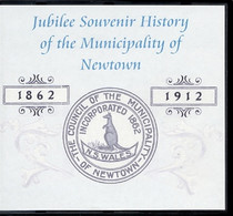 Jubilee Souvenir History of the Municipality of Newtown 1862-1912