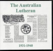 The Australian Lutheran 1931-1940