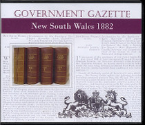 New South Wales Government Gazette 1882