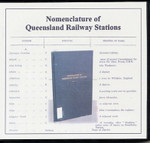 Nomenclature of Queensland Railway Stations