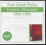 New South Wales Country Directory 1899-1900 (Hall)