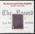 The Record and Trades Register: July 1887-January 1888