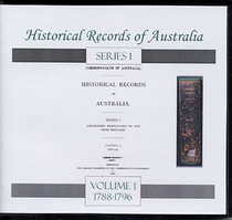 Historical Records of Australia Series 1 Volume 1