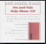 New South Wales Pocket Almanac 1820