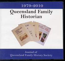 Queensland Family Historian 1979-2010 Set: Journal of Queensland Family History Society