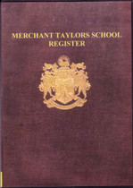 Merchant Taylors' School Register, Middlesex 1871-1900