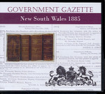 New South Wales Government Gazette 1885