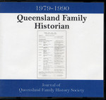 Queensland Family Historian 1979-1990: Journal of Queensland Family History Society