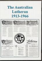 The Australian Lutheran Set 1913-1966 (CD)