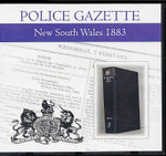 New South Wales Police Gazette 1883