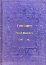 Yorkshire Parish Registers: Settrington 1559-1812