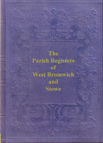 Staffordshire Parish Registers: West Bromwich 1608-1659 and Stowe 1574-1679