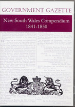 New South Wales Government Gazette Compendium 1841-1850