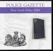 New South Wales Police Gazette 1884