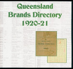 Queensland Brands Directory 1920-1921