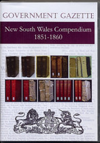 New South Wales Government Gazette Compendium 1851-1860