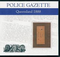 Queensland Police Gazette 1888