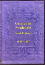 Yorkshire Parish Registers: Grinton in Swaledale 1640-1807