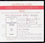 Queensland Education Gazette 1945