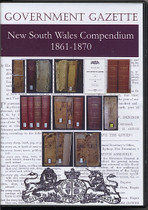 New South Wales Government Gazette Compendium 1861-1870