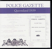 Queensland Police Gazette 1939