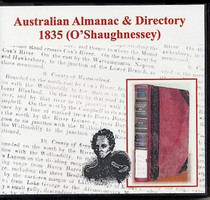 Australian Almanac and Directory 1835 (O'Shaughnessey)