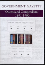 Queensland Government Gazette Compendium 1891-1900