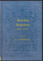 Yorkshire Parish Registers: Howden Part II 1542-1772
