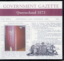 Queensland Government Gazette 1873