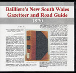 Bailliere's New South Wales Gazetteer and Road Guide 1870