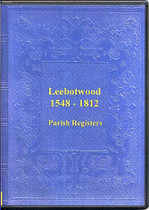 Shropshire Parish Registers: Leebotwood 1548-1812
