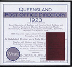 Queensland Post Office Directory 1923 (Wise)