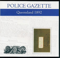 Queensland Police Gazette 1892
