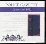 Queensland Police Gazette 1942