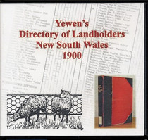 Yewen's Directory of Landholders, New South Wales 1900