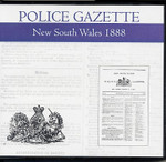 New South Wales Police Gazette 1888