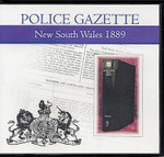 New South Wales Police Gazette 1889