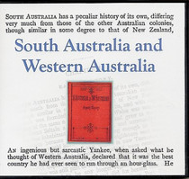 South Australia and Western Australia