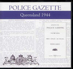 Queensland Police Gazette 1944