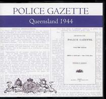 Queensland Police Gazette 1944