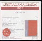 Australian Almanac 1857 (Cox & Co)