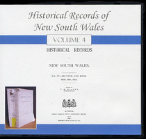 Historical Records of New South Wales Volume 4