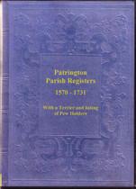 Yorkshire Parish Registers: Patrington 1570-1731