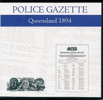 Queensland Police Gazette 1894