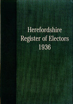 Herefordshire Register of Electors 1936