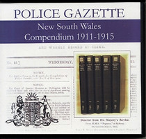 New South Wales Police Gazette Compendium 1911-1915