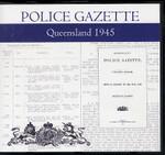 Queensland Police Gazette 1945